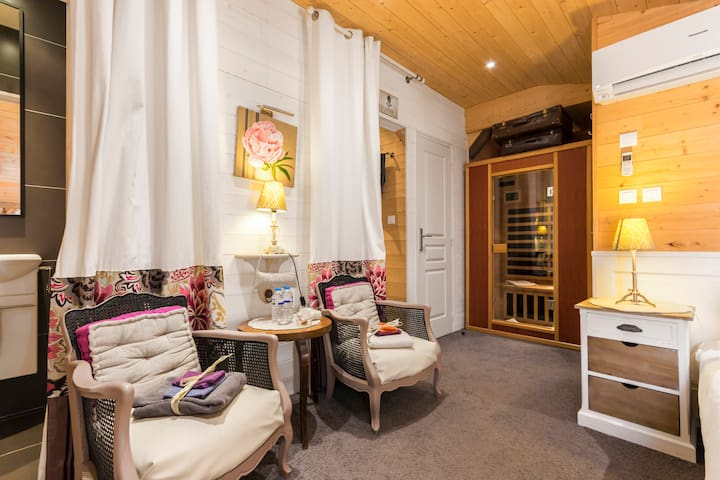 Chambre d'hôtes sauna infrarouge privatif - Guérande - Bed & Breakfast