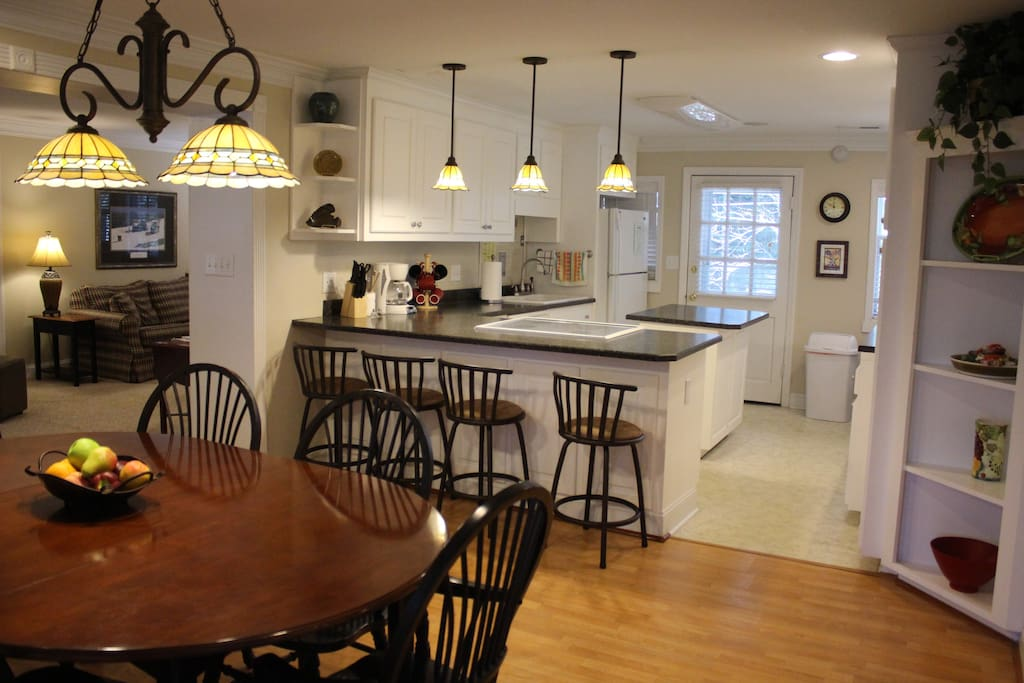 Large open floor plan is great for get togethers!