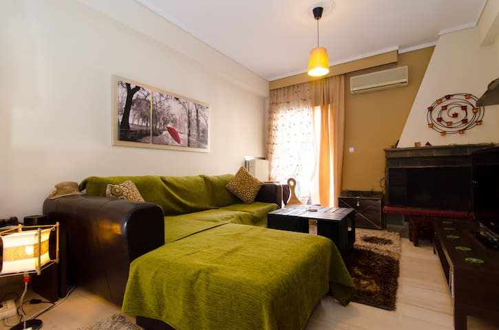 Thessaloniki (skg) super cozy home-Business Ready - Thessaloniki - Pis