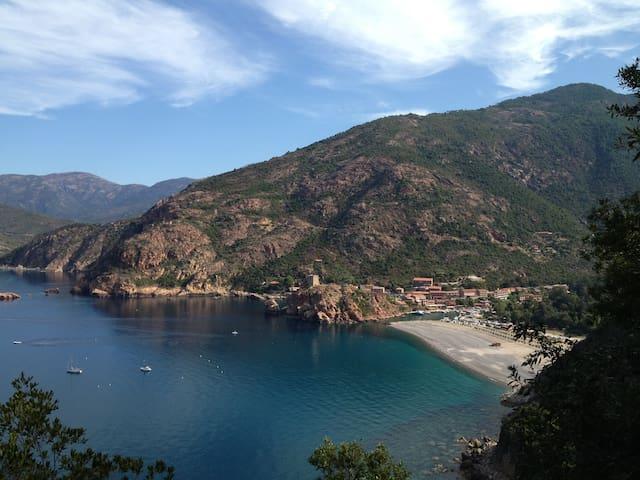 Maison Corse Du Sud Proche Porto - Marignana - Huis