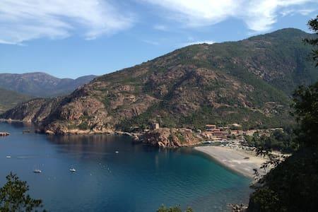 Maison Corse Du Sud Proche Porto - Marignana