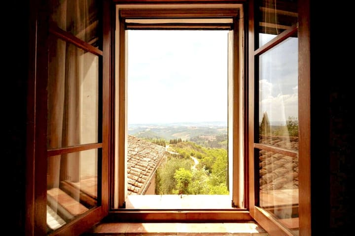View from the master room, 1 St floor