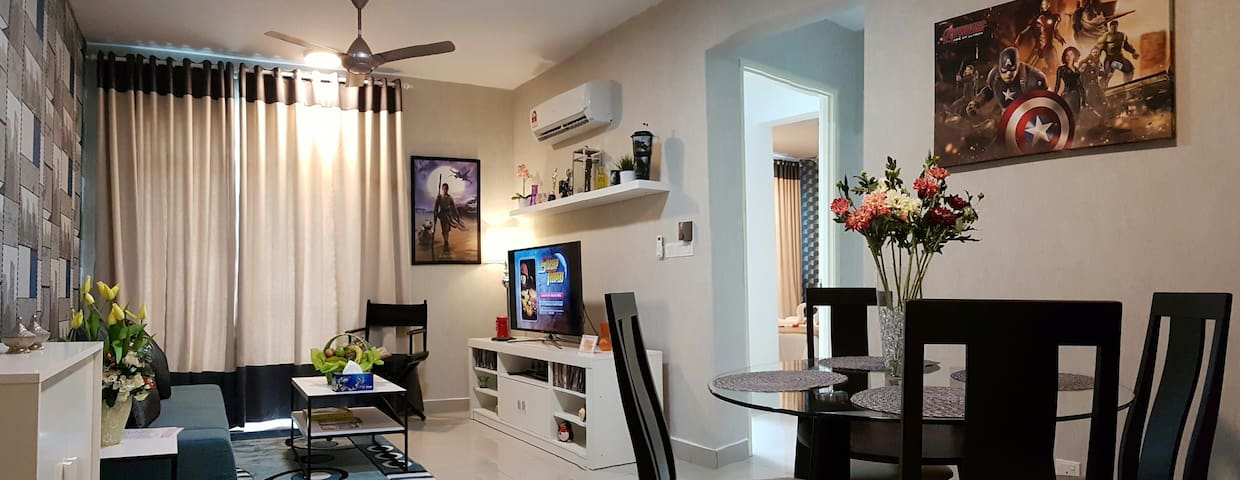 2 Bedroom Movie-Themed Suites Apartment by LK - Selangor - Flat