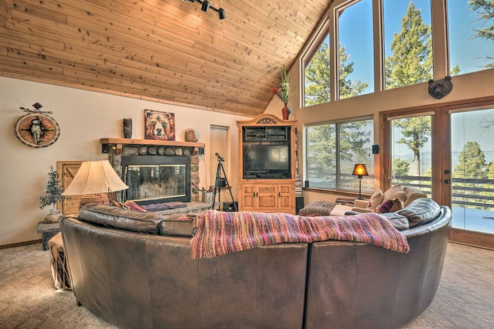 NEW! Mtn-View Retreat w/ Hot Tub, ~5 Mi. to Skiing