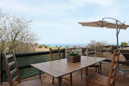 Your holiday in old village on sea - torre di palme - Haus