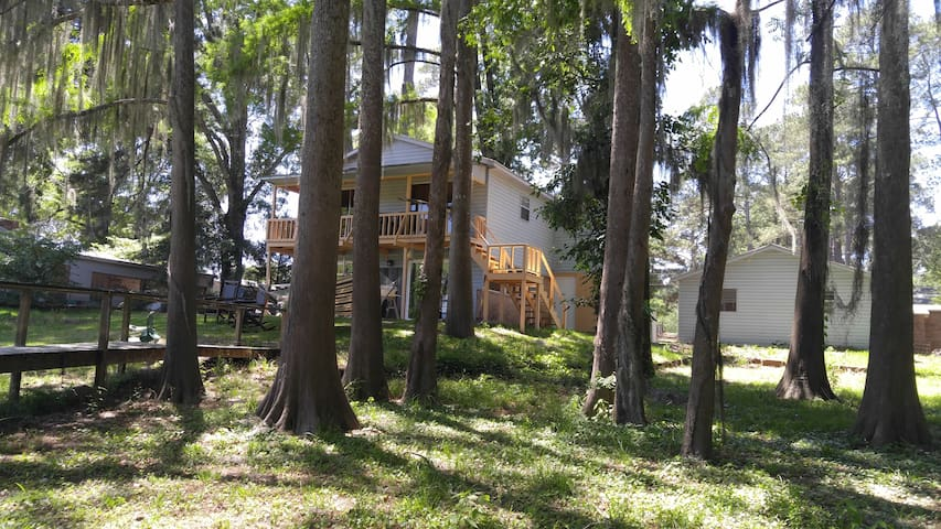 Lake Retreat Near Natchitoches Sleeps 8