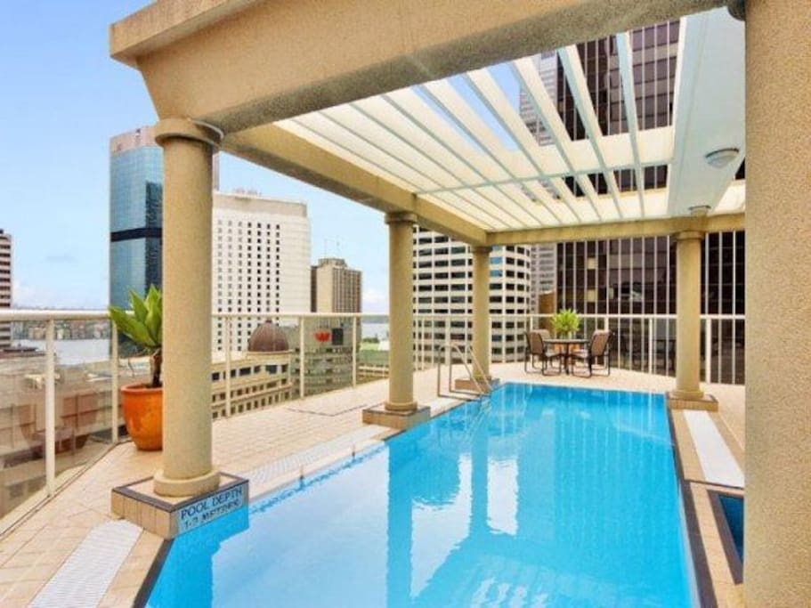 Rooftop Pool & BBQ deck.