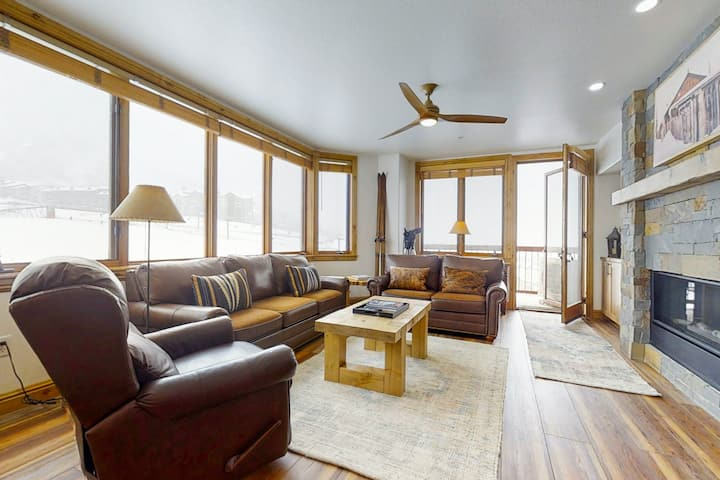 Massive Ski-In/Ski-Out Condo w/Shared Pool, Hot Tubs, Firepit, and Free WiFi