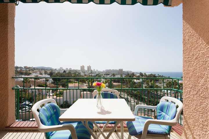 Apartment 100m from the beach with wonderful view - Costa Adeje - Apartment