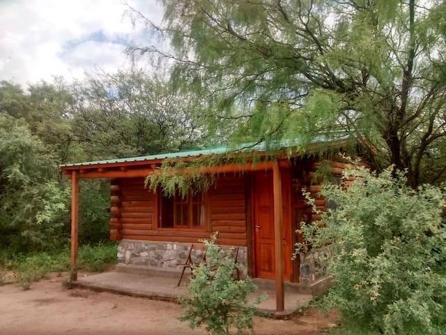 Ecocabaña en San Marcos Sierras - San Marcos Sierras - Blockhütte