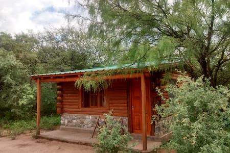 Ecocabaña en San Marcos Sierras - San Marcos Sierras - กระท่อม
