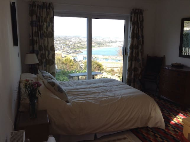 Annex withviews over Newlyn Harbour - Newlyn - Appartement