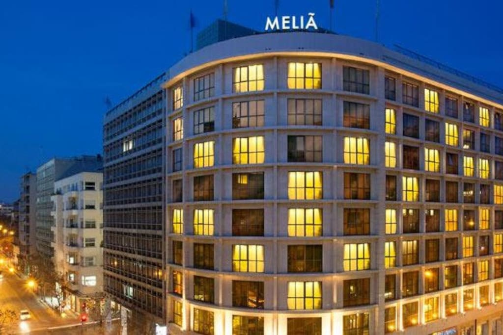 Exterior view of Melia, Athens
