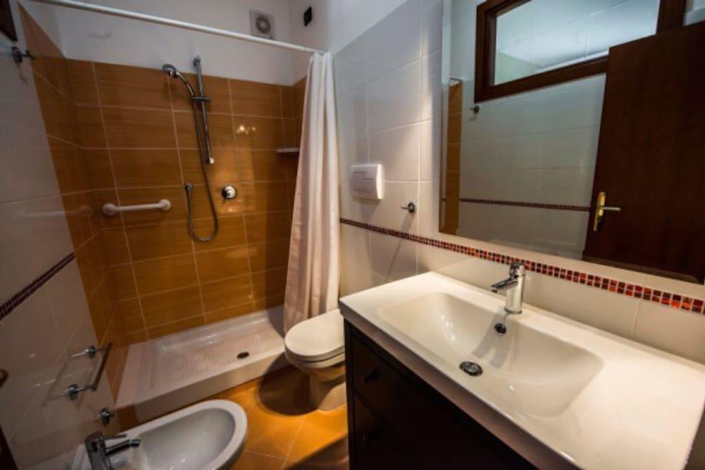il vostro bagno privato.