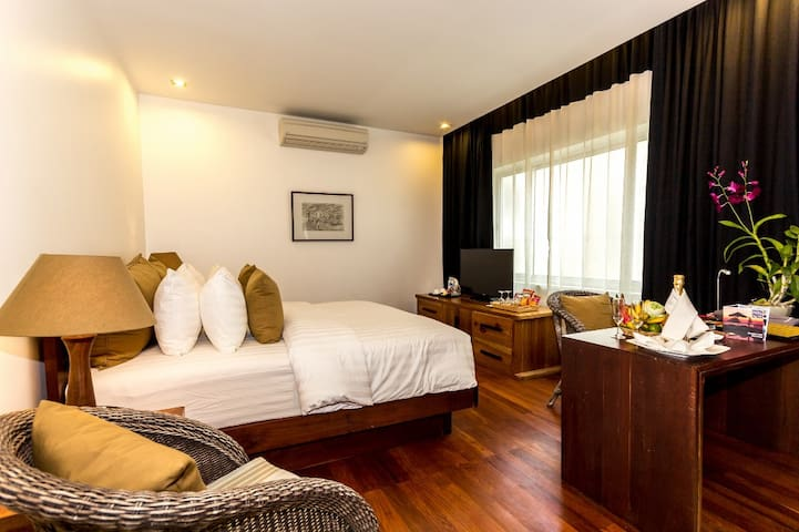 Cozy Double Room in Charming City - Krong Siem Reap - Lejlighed