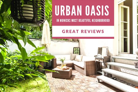 Urban Oasis in Prime Location With Lovely Garden - Munich - Apartemen
