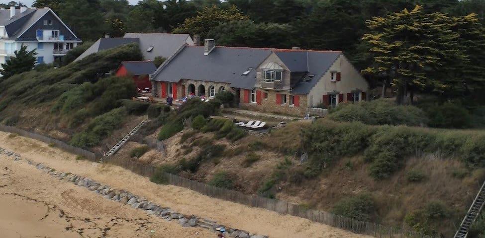La Grande Chartreuse, une villa sur la plage