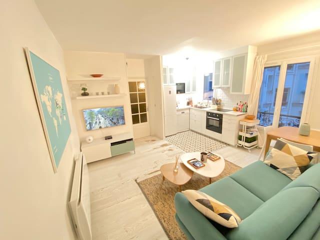Chambre calme dans un appartement partagé cosy