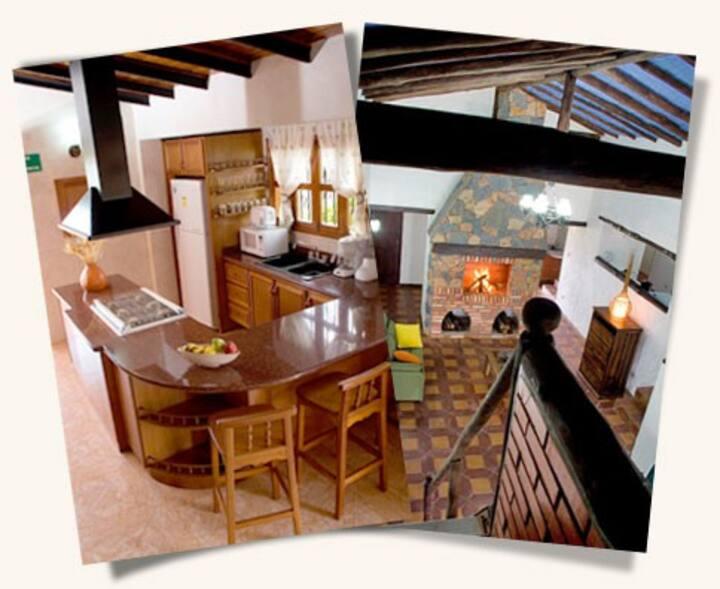 Cabañas en hotel Sierra linda