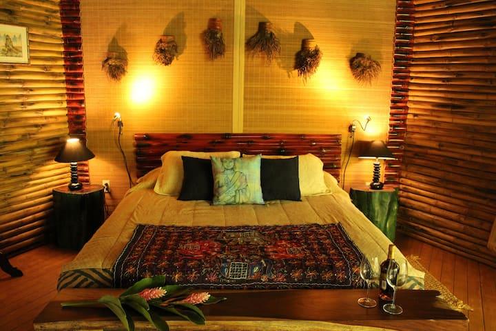 Cabaña Bambú: Jardín Secreto Resort Holístico.