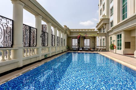 Center 1BR Apart+RooftopPool+SIM3G - Ho Chi Minh City - Apartemen