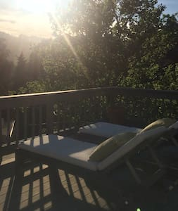 Views and Sun in Mill Valley
