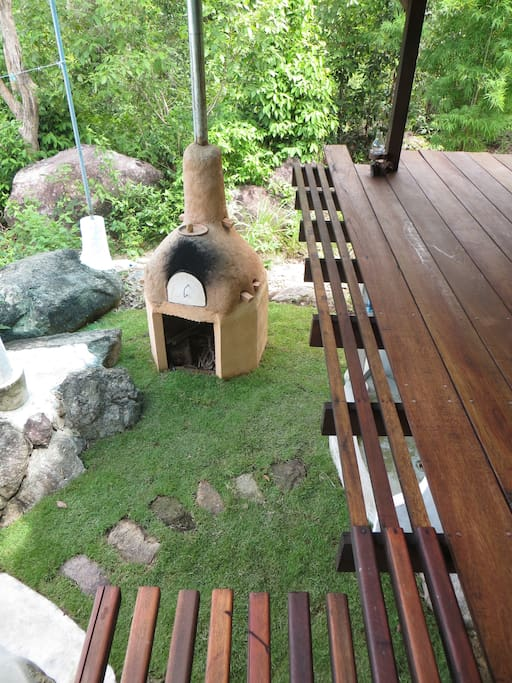 Firewood Oven for outdoor cooking of your favorite homemade treats.