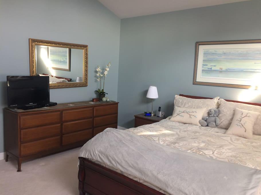 Master Suite w Queen Bed
