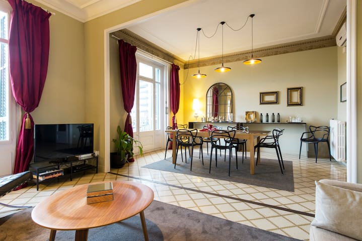 Luxury apartment in the city center - Barcelona - Apartment