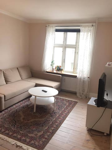 Central cosy and clean apartment in hip Vesterbro - København - Apartment