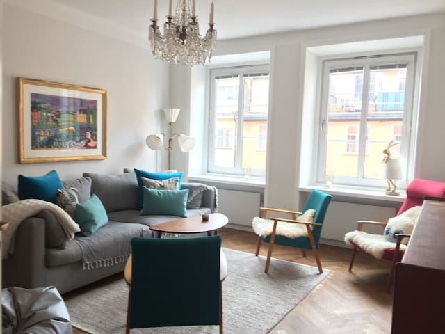 Central living in beautiful Södermalm