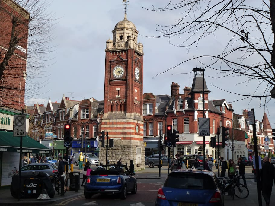 100 Yards from the Centre of Crouch End