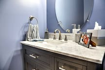 Enjoy the added convenience of a half bath during your stay.