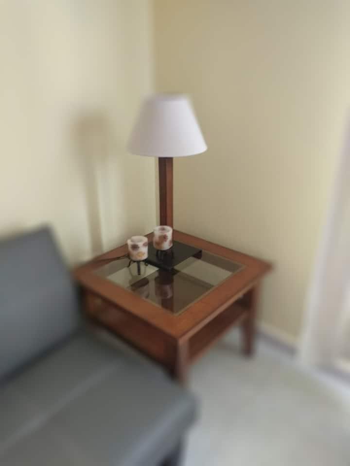 Apartamento acogedor, céntrico y funcional.
