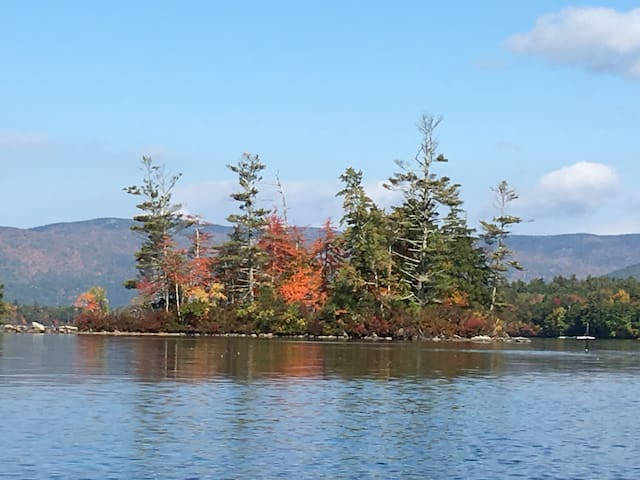 Fall on Squam