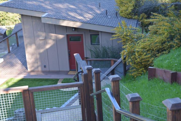 Modern custom built Portola Valley guest house - Portola Valley