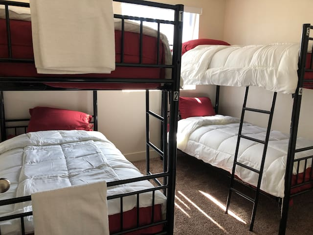 Shared room (Room 2 bed 2- UNISEX  Bottom Bunk)