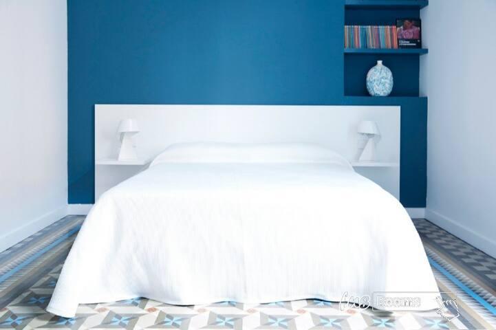 L´Esplai Valencia Bed and Breakfast - Habitación Russafa - Oferta 45% Descuento