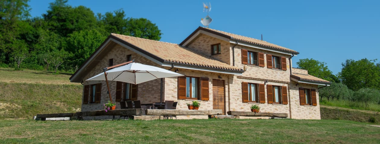 Campidoglio Bed and Breakfast - Piane di Falerone - Гестхаус