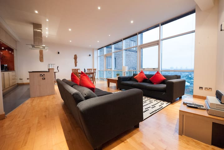 Penthouse with astonishing view - Free Parking