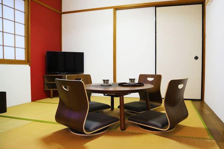 1F: Living room