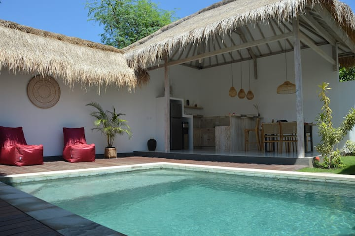 New 2 Bedrooms Family Villa with Private Pool