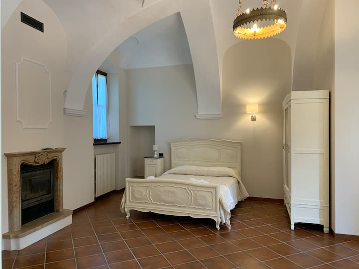 Villa Conti di Benech-camera con bagno privato