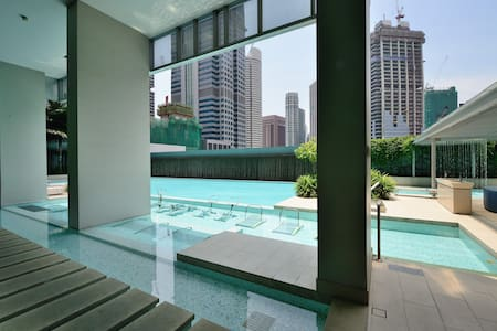 Amoy Street One bedroom Apt 28 @ CBD - Singapore - Huoneisto