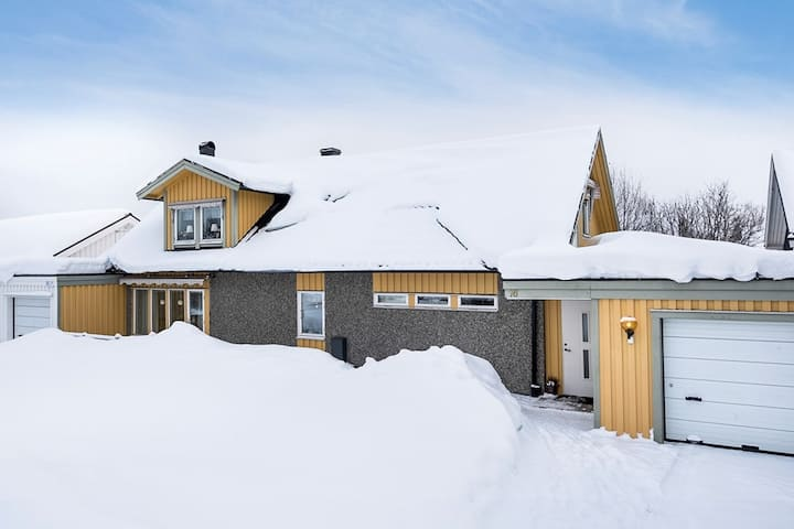 Rymlig villa med de bekvämligheter du behöver