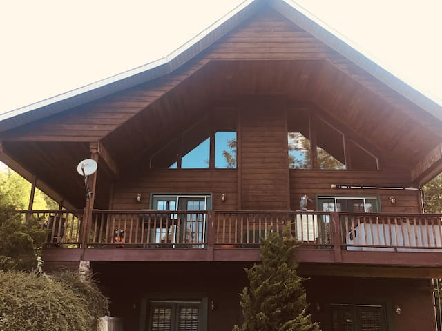 View From Up Here! Large Cabin- Hot Tub,Fireplace
