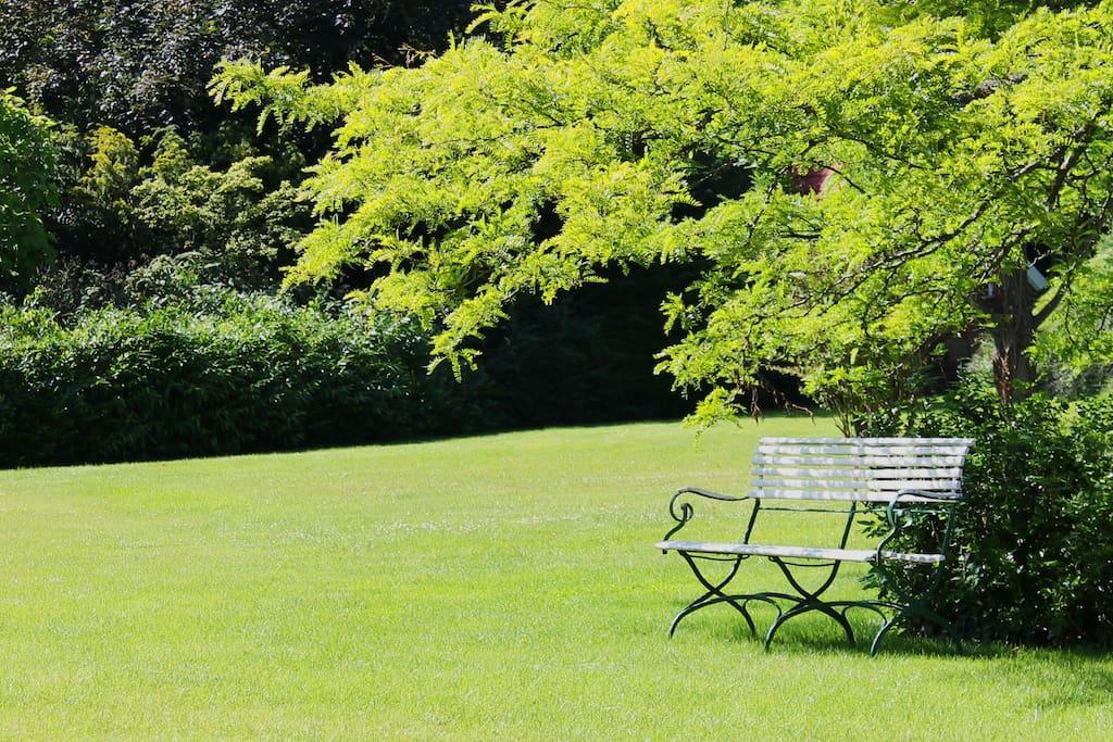 Park von Gut Einhaus
