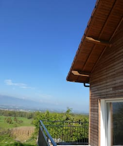 Lovely house with beautiful view! - Dingy-en-Vuache