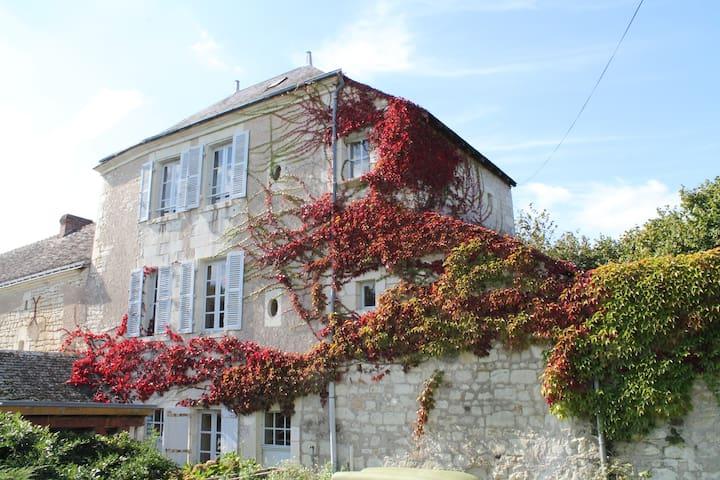 Maison 55 m² La Roche Posay (wifi)