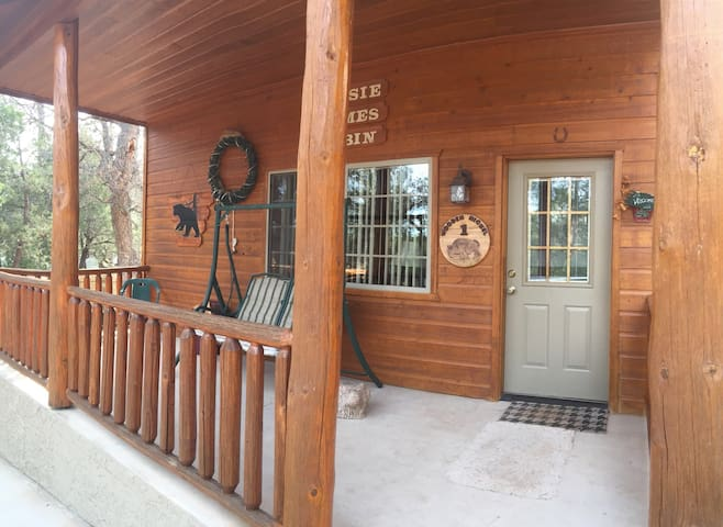 Wooden Nickel Cabins. 5 Cabins Info Listing Only.